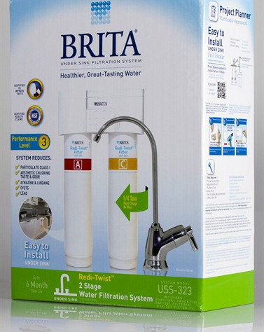 Brita 174 Redi Twist Tm 2 Stage Water Filtration System Model